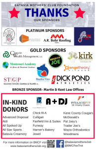 Thank you - Sponsors